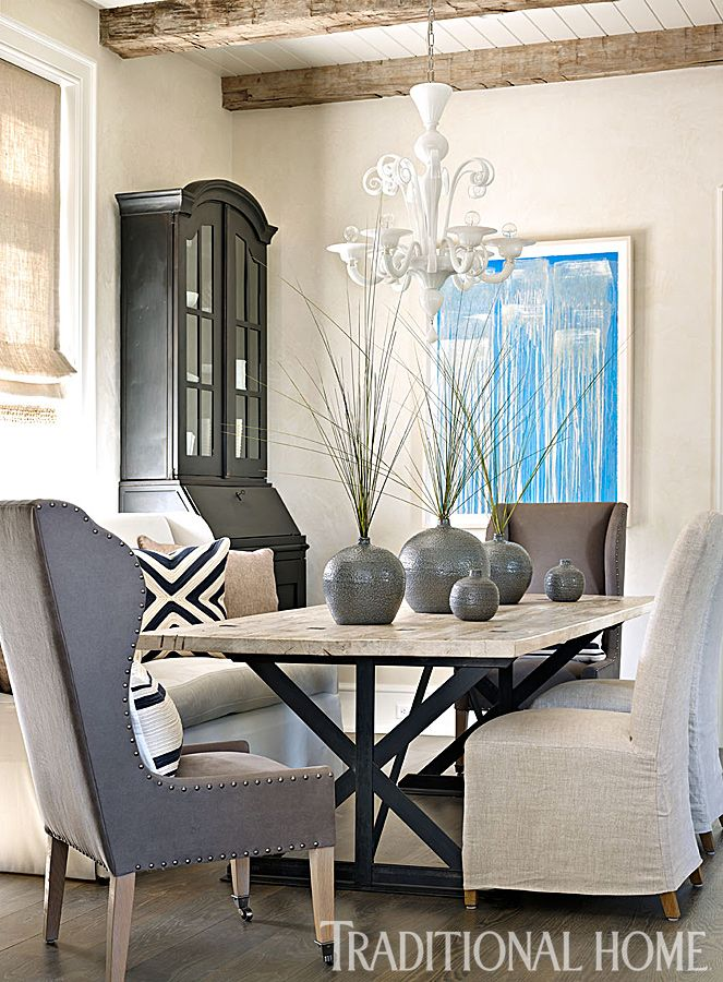 17 best ideas about neutral dining rooms on pinterest for Neutral dining room ideas