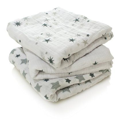aden + anais Twinkle Cotton Muslin Square Musy (3 Pack)
