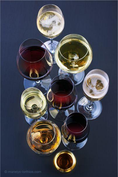 Les #vins blanc, les vins rouge, les #Crémants, l'aligoté, les Fines et Marc de Bourgogne