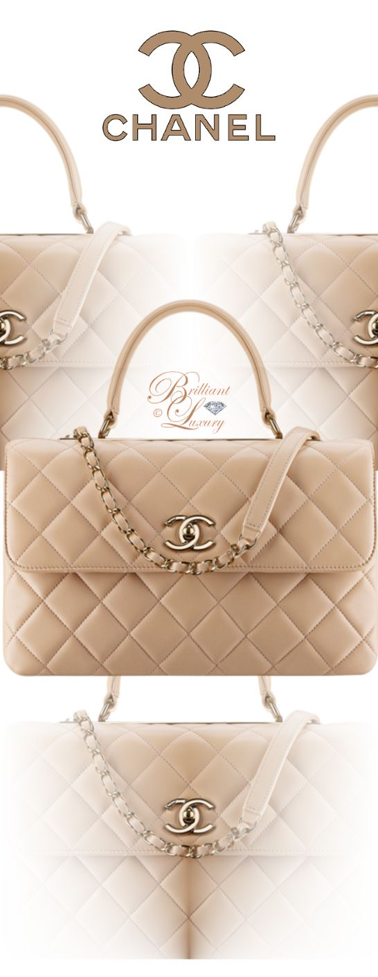 Brilliant Luxury by Emmy DE ♦ Chanel Flap Bag With Top Handle