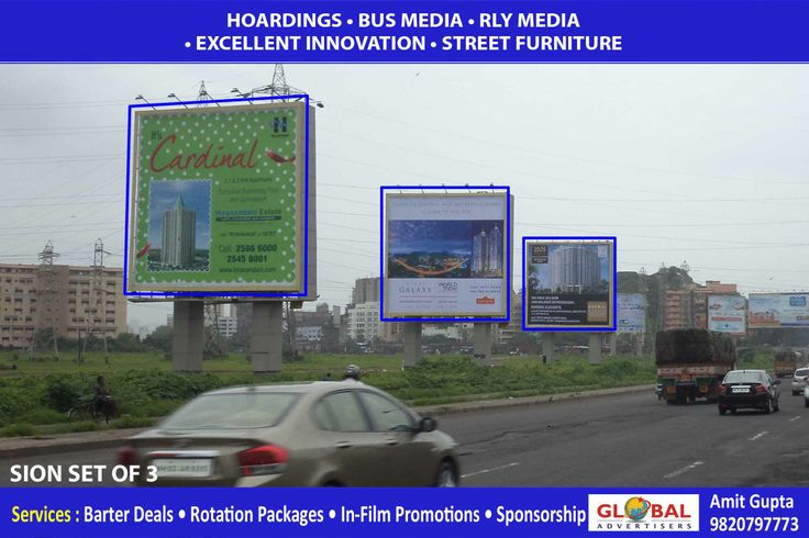 #builders #outdoor #hoardings #campaign in #Sion