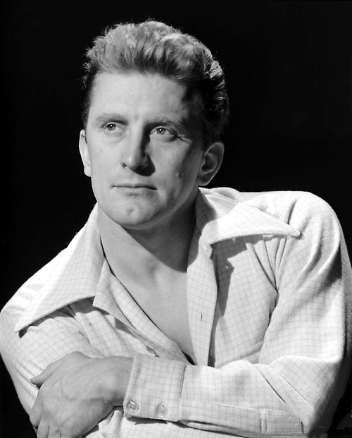 Kirk Douglas (Issur Danielovitch) (born Amsterdam, New York (USA), December 9, 1916)