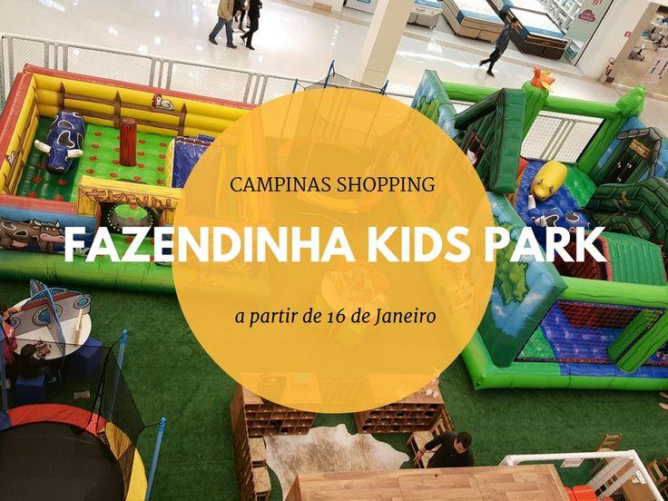 Fazendinha Kids Park na Programação de Ferias do Campinas Shopping