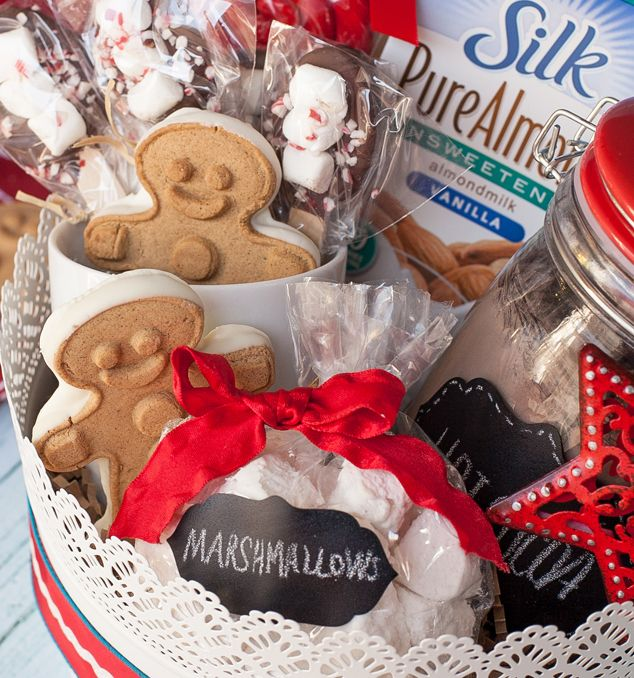 16 best mens gift baskets images on pinterest gift basket gift delicious gift giving non dairy hot chocolate gift basket for the holidays negle Choice Image