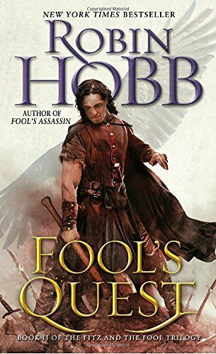 Fool's Quest: Book II of the Fitz and the Fool trilogy by Robin Hobb. NEW YORK TIMES BESTSELLER • NAMED ONE OF THE BEST BOOKS OF THE YEAR BY BUZZFEED AND THE INDEPENDENT • Ranking alongside George R. R. Martin as a groundbreaking master of fantasy, Robin Hobb delivers the second book in her long-awaited Fitz and the Fool trilogy. The harrowing adventures of FitzChivalry Farseer and his enigmatic friend the Fool continue in Robin Hobb's triumphant follow-up to Fool's Assassin . But Fool's...