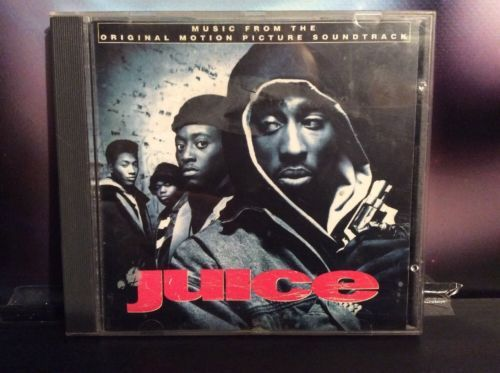 Juice Original Movie Soundtrack CD Album MCAD-10462 90's Film Hip Hop Rap 2Pac Music:CDs