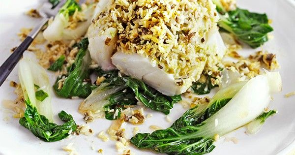 These coconut ginger fish parcels are easy to make, ready in just 30 minutes and under 500 calories - perfect for a midweek meal