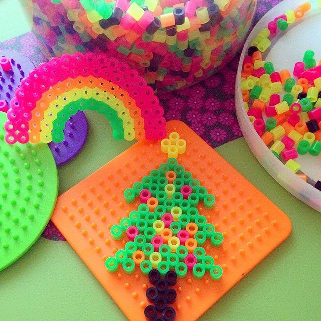 Christmas tree perler beads by rino0420