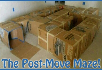 Upcycled Carton Maze for Kids