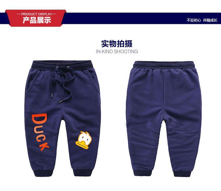 4-10 лет новый 2016 осенняя мода детская одежда брюки дети девушки парни одежда брюки брюки