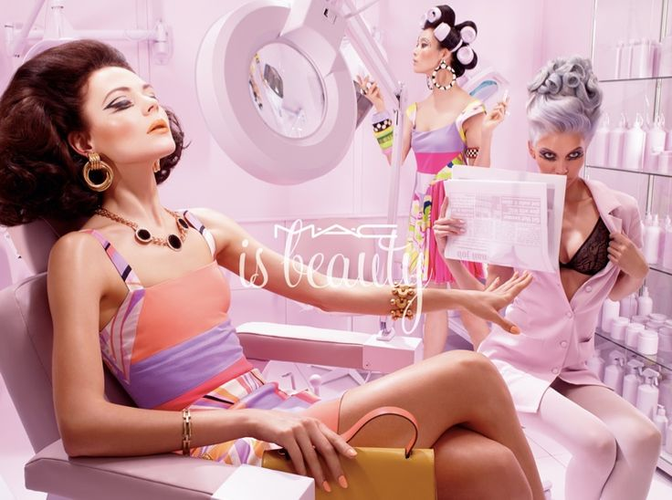 MAC Cosmetics 'MAC is Beauty' Campaign photographed by Miles Aldridge