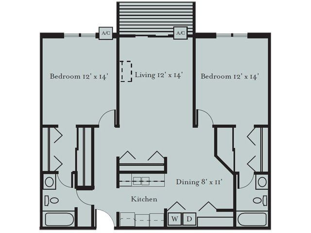 2 Bedroom  2 Bath Floor Plan of Property Park Glen Apartments in St  Luxury  apartment community with great location and resort class amenities. 17 best Park Glen Apartments in St  Louis Park Floor Plans images