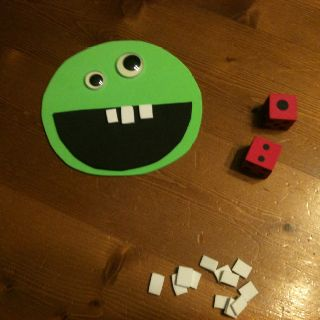 Something I made for Dental health month.. Works on counting & number recognition.