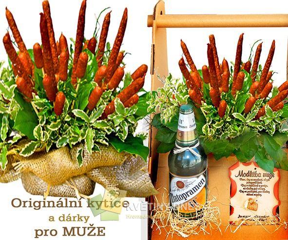 Dárek Pro Muže Krabice S Pivem Klobásy Id Hn Krabice Pivo Podzim 1
