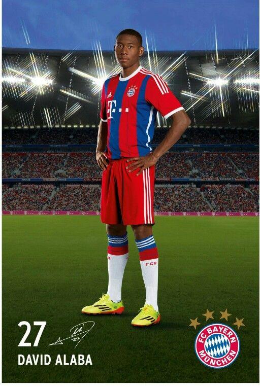 David Alaba, FC Bayern München. #FCB #MiaSanMia #Alaba #da27