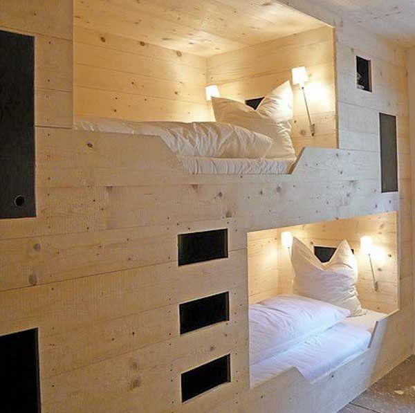 Etagenbett   30 Funktionelle Ideen Wie Sie Mehr Platz Sparen Können. Platzsparende  BettenModerne ...