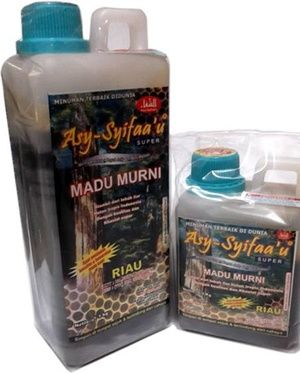 Madu Hutan As Syifau+Bee Pollen Riau 1 Kg - http://toko-obatherbal.com/madu-hutan-as-syifaubee-pollen-riau-1-kg.html