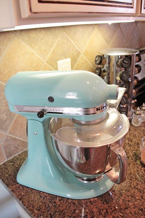 Photo Aqua Sky Kitchenaid Mixer | Aqua Sky Kitchenaid Mixer