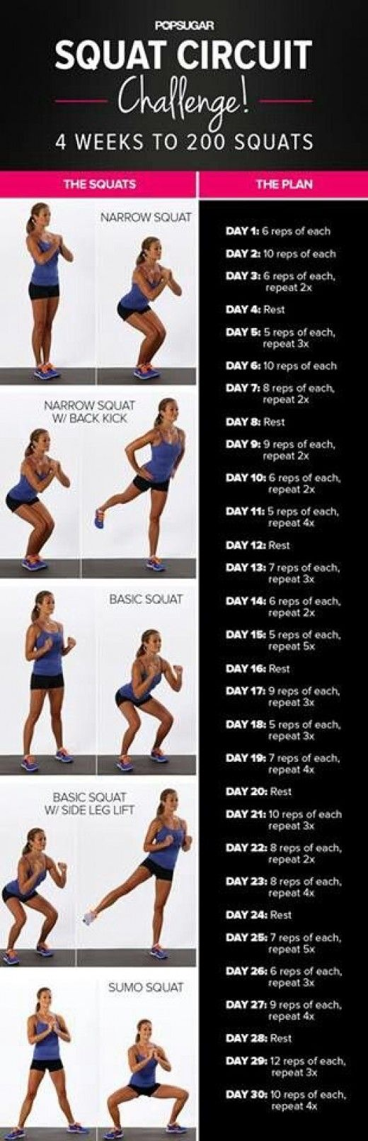 The benefits of squatting