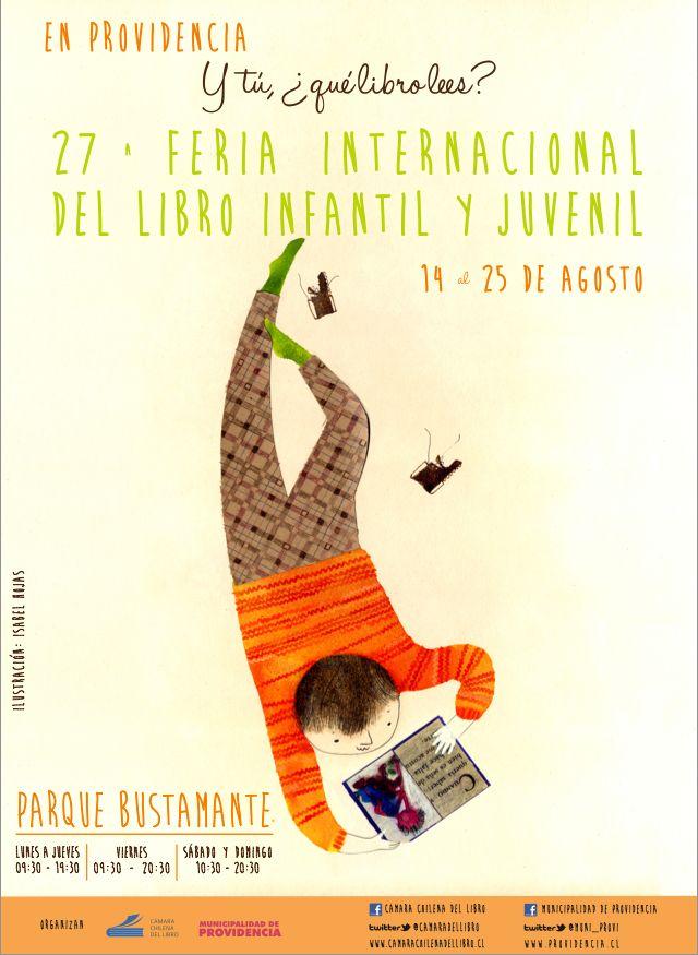 Providencias Chidren Book Fair · Illustration: Isabel Hojas, layout: Indigo de Papel.