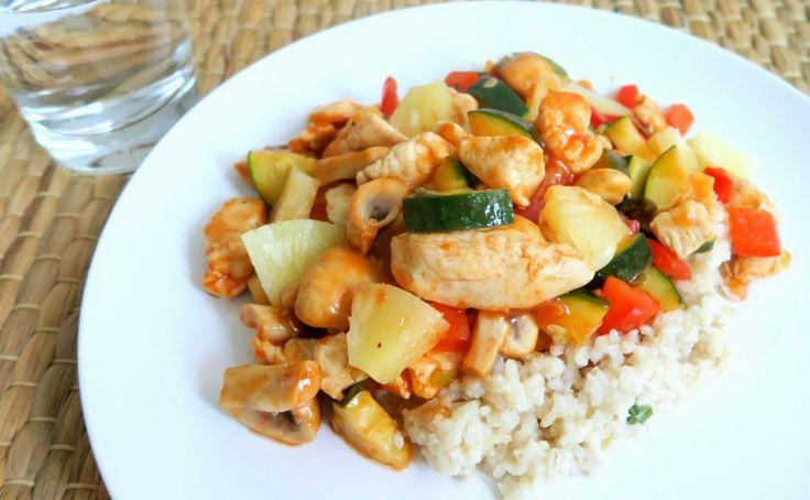 Recept: Gezonde Kip in Zoetzure Saus met Rijst - Optima Vita