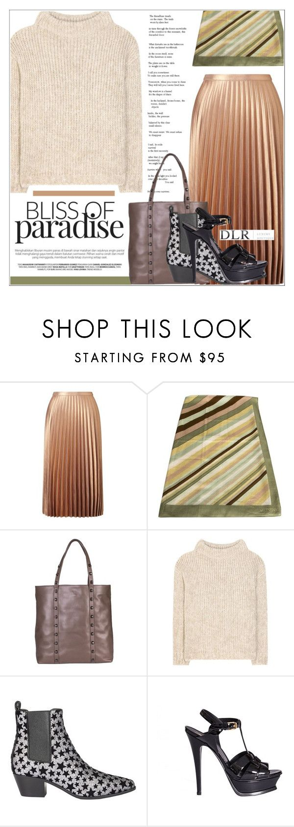 """""""DLRBOUTIQUE.COM"""" by mirachu-1 on Polyvore featuring Miss Selfridge, Valentino, Borbonese, Tom Ford and Yves Saint Laurent"""