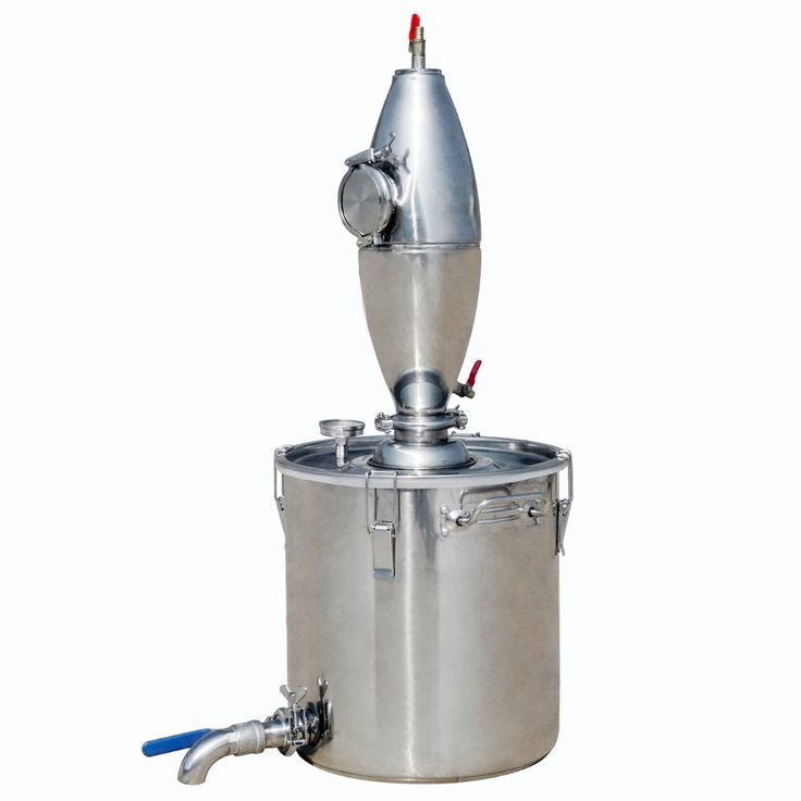 219.88$  Watch here - http://ali5ya.worldwells.pw/go.php?t=32792928865 - 18L Stainless Alcohol Distiller Home Brew Kit Beer Wine Making Boiler Brewed wine 219.88$