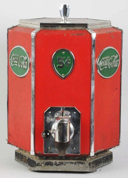 Coca-Cola Art Deco Styled Syrup Dispenser