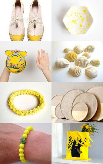 y e l l o w by Joey on Etsy--Pinned with TreasuryPin.com