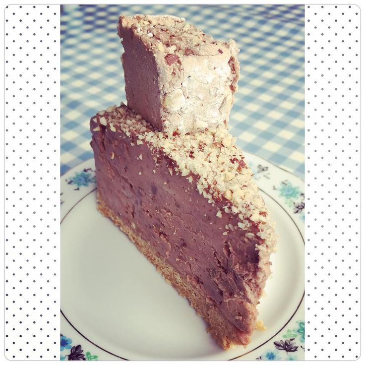 Milk Chocolate & Hazelnut Marshmallow Cheesecake