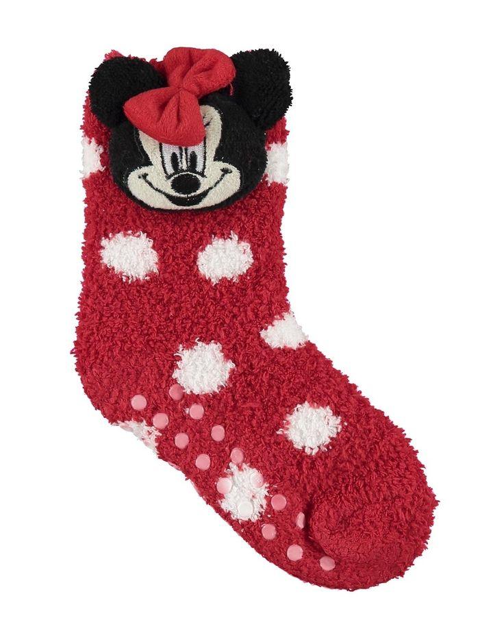 Minnie Mouse Slipper Socks