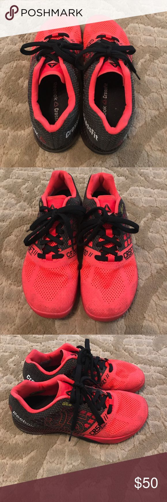 Reebok Crossfit shoes Reebok crossfit shoes series 5. Size 8. Good condition. Barely worn. Reebok Shoes