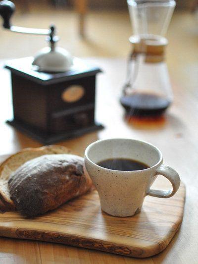 Kitchen Tool : 映画の中のキッチンツール/「山田雅子さん」の「粉引コーヒーカップ」 #kitchentools