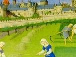 veilig wonen in de middeleeuwen Stadsmuur, stadspoort (valhekken en deuren)