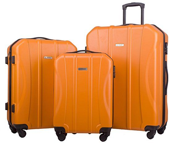 11 best TOP 10 BEST ABS 3 PIECE LUGGAGE SETS UNDER $100 REVIEWS ...