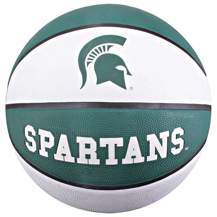 Baden Michigan State Spartans Official Deluxe Basketball, Green