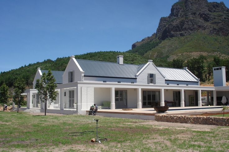 44 best images about cape dutch on pinterest cape town for Farm style houses south africa