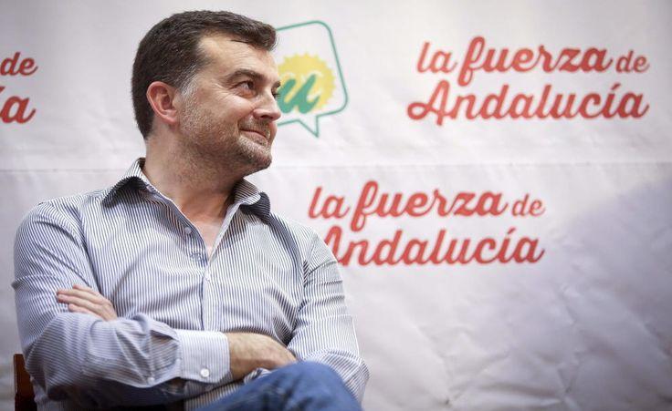 Maíllo salda la deuda pública de IU Andalucía heredada de la dirección anterior