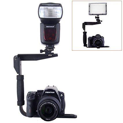 Neewer Quick Flip giratorio soporte de flash para cámaras réflex digitales punto y disparar cámaras y Flashes Speedlight