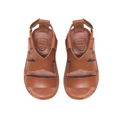 85f76d66b8e Trendy leather sandal - Shoes - Baby boy - Kids - ZARA Spain