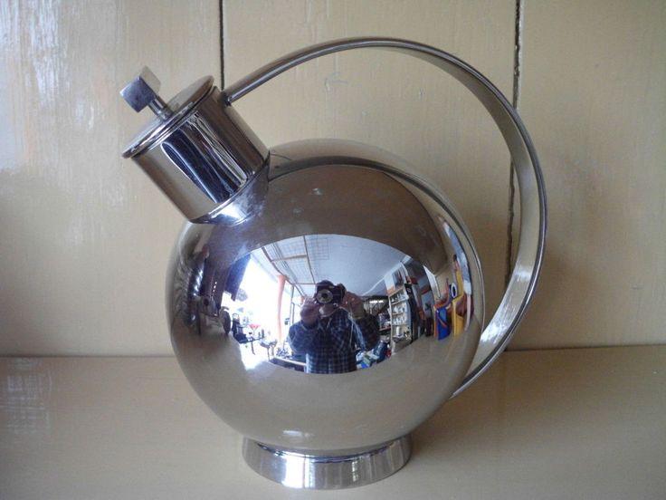 Alessi Cocktail Shaker Stainless Steel Design Sylvia Stave Bauhaus Marianne Brandt    eBay