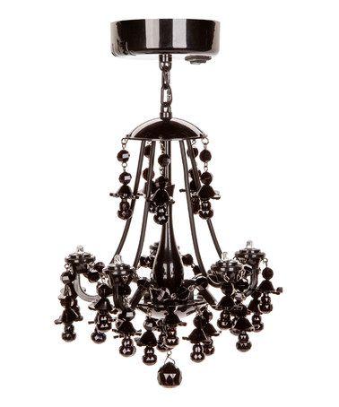 This Black Locker Chandelier is perfect by LockerLookz, $15 !!  #zulilyfinds