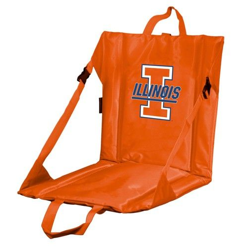 University of Illinois Stadium Seat With Back