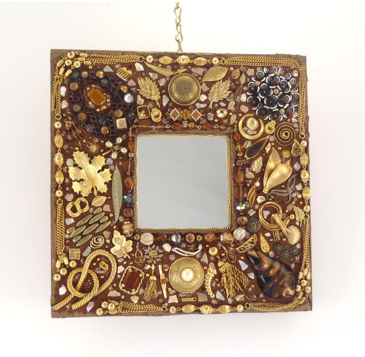 712 best jeweled frames diy images on pinterest picture for Unique wall frames
