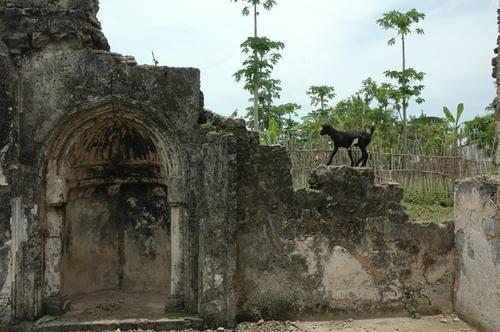 Ruins of Kilwa Kisiwani, Tanzania