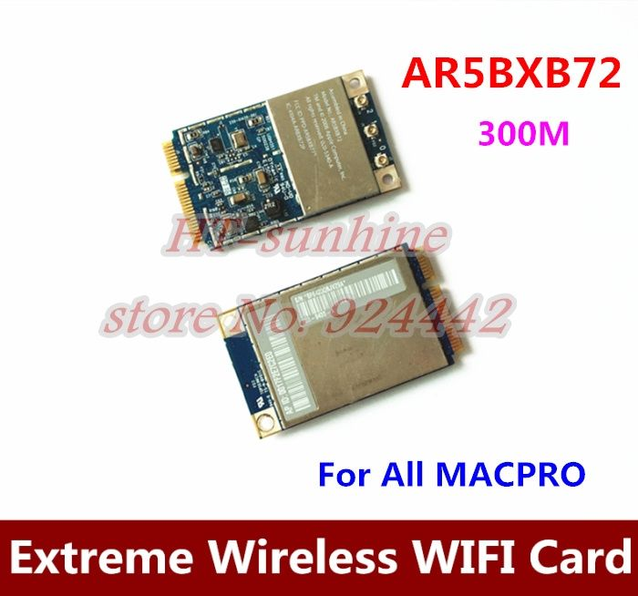117.50$  Watch here - http://alik0q.shopchina.info/go.php?t=32565926480 - High Quality  5PCS/LOT   For All Mac Pro Atheros Airport Extreme Wireless Mini PCIE WIFI Card AR5BXB72  #SHOPPING