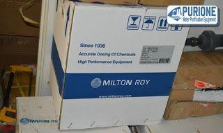 Dosing Pump Milton Roy GM0090 adalah pompa dosing kimia model vertikal untuk injeksi kimia sebesar 85 liter per jam pada tekanan kerja hingga 10 bar - http://www.purione.com/2017/03/dosing-pump-milton-roy-gm0090.html