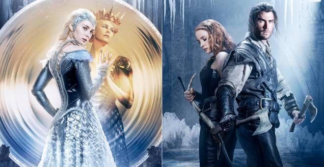 Il cacciatore la regina di ghiaccio Chris Hemsworth Charlize Theron film sequel fantasy