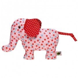 Baby Charms Pink Elephant Rattle - Baby Toy - spotted At Not Another Baby Shop