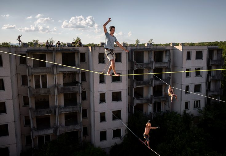 Mohai Balázs_MTI_Highline a Szellemvárosban_ 2014 legjobb sajtófotói